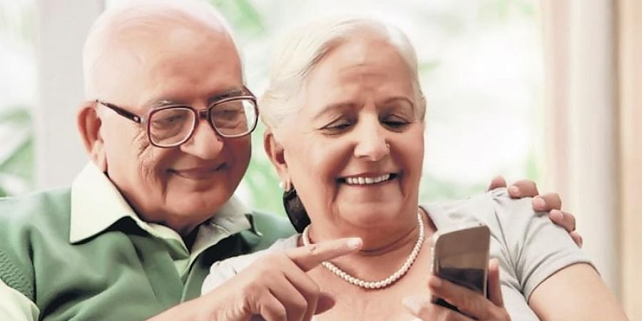 Senior citizens, Social media