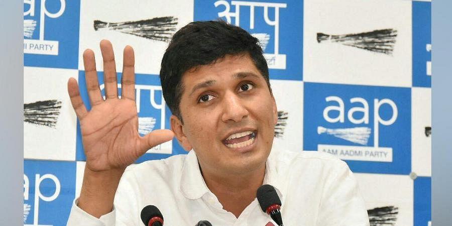 Senior AAP leader Saurabh Bhardwaj