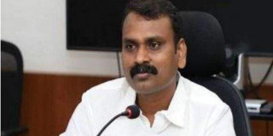 National Commission for Scheduled Castes Vice Chairman L Murugan