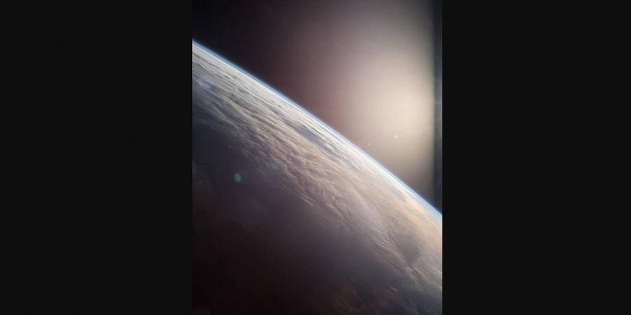 NASA astronaut Terry Virts, commander of Expedition 43 on board the International Space Station tweeted this image of Earth.