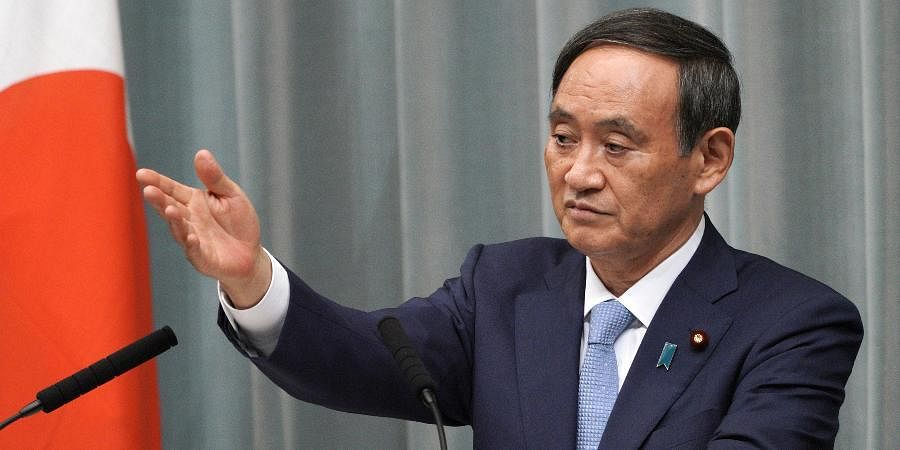 Japan's new Prime Minister Yoshihide Suga