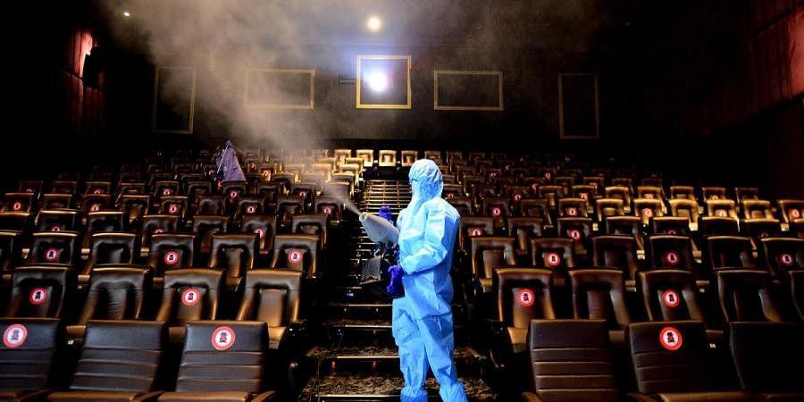 Movie theatre, multiplex