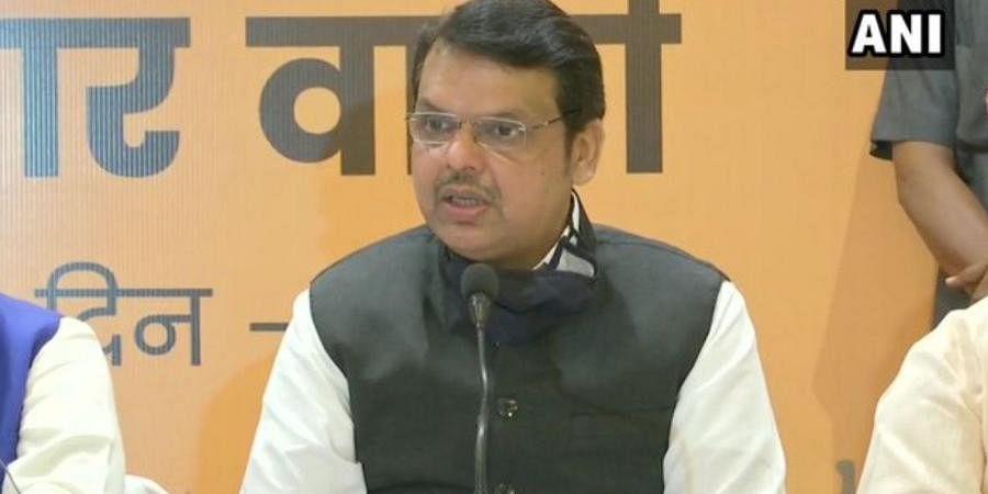 Former Maharashtra chief minister Devendra Fadnavis