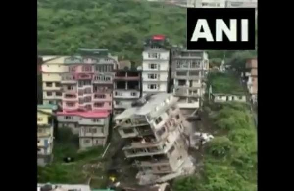 Landslide leads to collapse of eight-storey building in Shimla