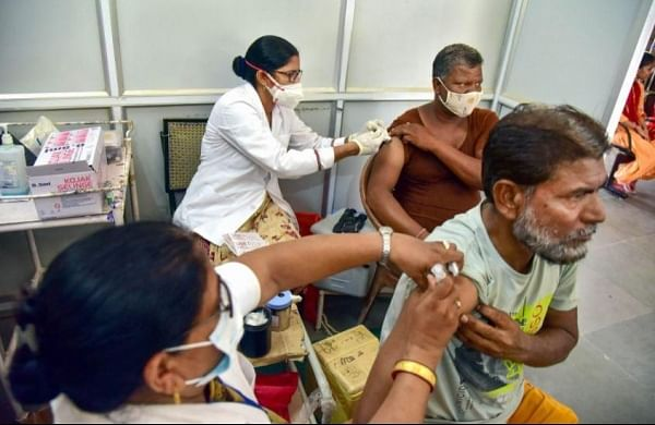 Jammu and Kashmir achieves 100 per centcoverage of first jab of COVID vaccine for all above 18 years