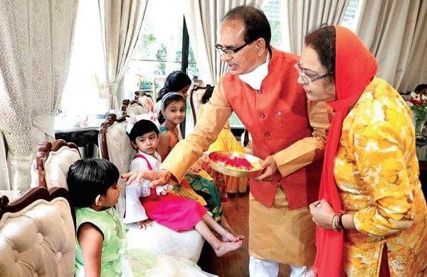MP CMShivraj Singh opens purse strings for educating 'Ladli Laxmis'