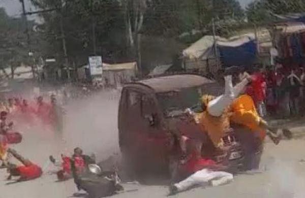 Chhattisgarh hit-and-run: Locals call for shutdown in Jashpur, accusedduo sent to judicial custody