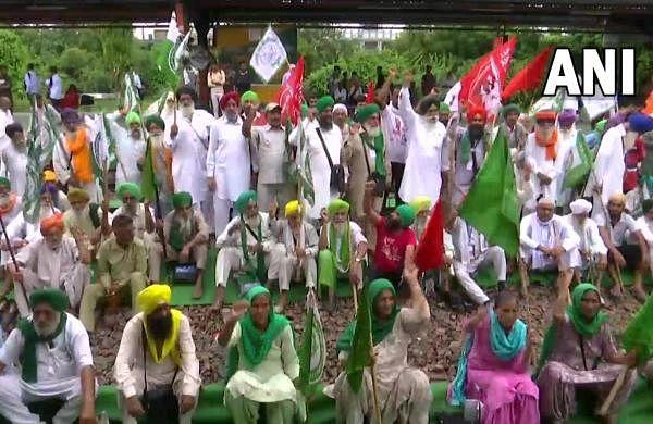 'Rail Roko' protest: Farmers block train traffic in Punjab, demand justice inLakhimpur violence case