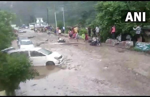 River washes away under-construction bridge as rains cause havoc in Uttarakhand
