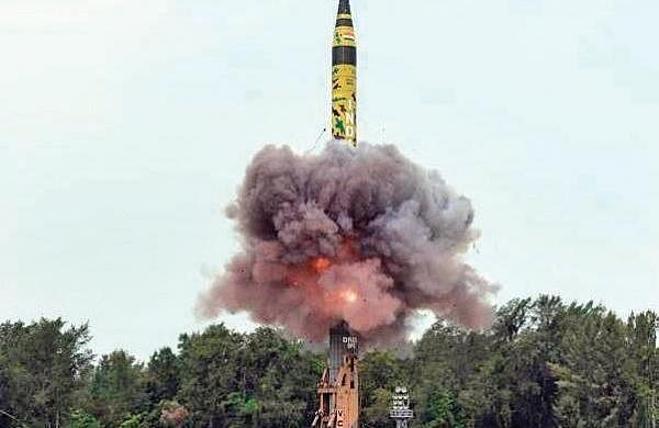 India successfully test-fires Agni-V missile with range of 5000 km