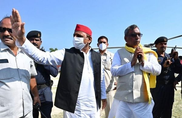 Uttar Pradesh assembly polls: Samajwadi Party-SBSP announce alliance, say people will drive out BJP