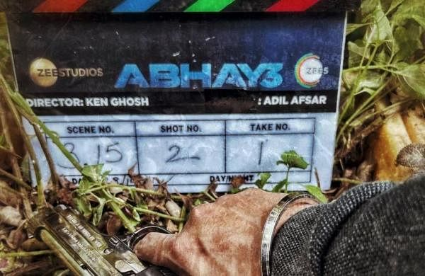 Kunal Kemmu begins filming 'Abhay 3'