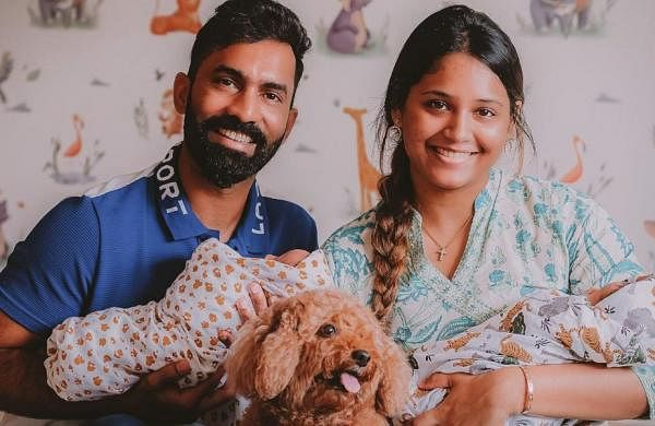 Dinesh Karthik, wife Dipika Pallikal blessed with twin baby boys