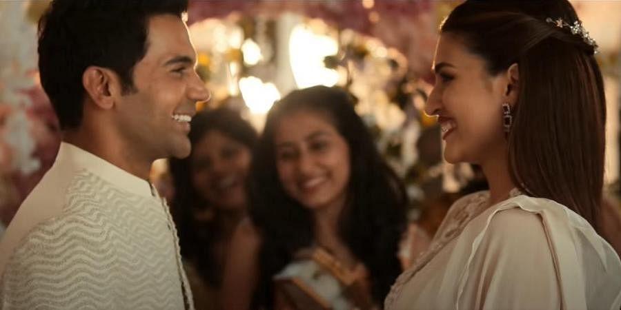 WATCH | Rajkummar Rao, Kriti Sanon-starrer 'Hum Do Hamare Do' drops teaser-  The New Indian Express