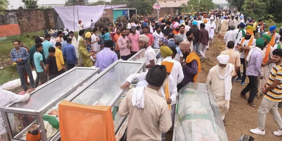 Lakhimpur incident: Kin of killed BJP men, driver too get Rs 45 lakh- The New Indian Express
