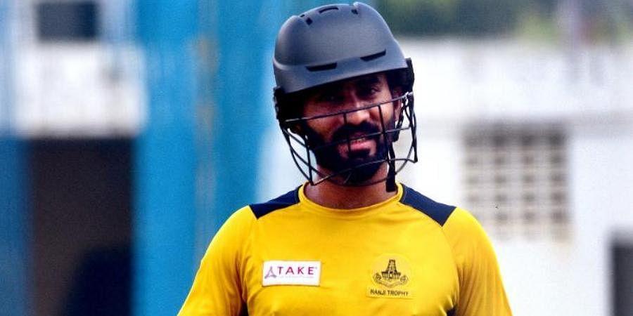 Tamil Nadu captain Dinesh Karthik