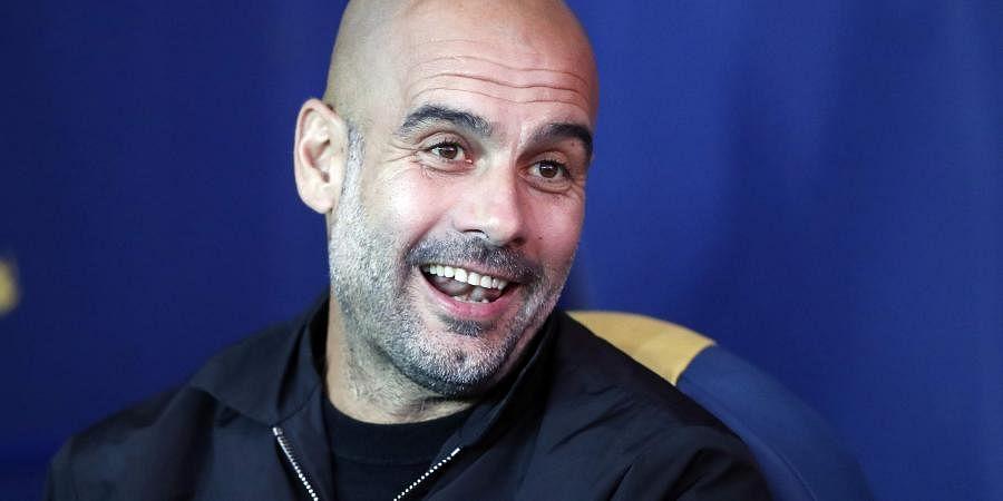 Manchester City's coach Pep Guardiola (Photo   File/AP)