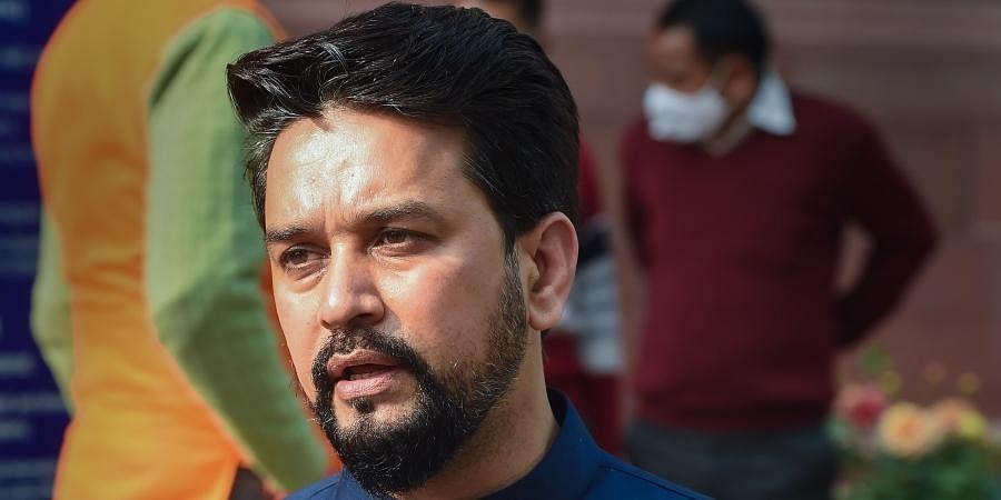 Union Minister Anurag Thakur