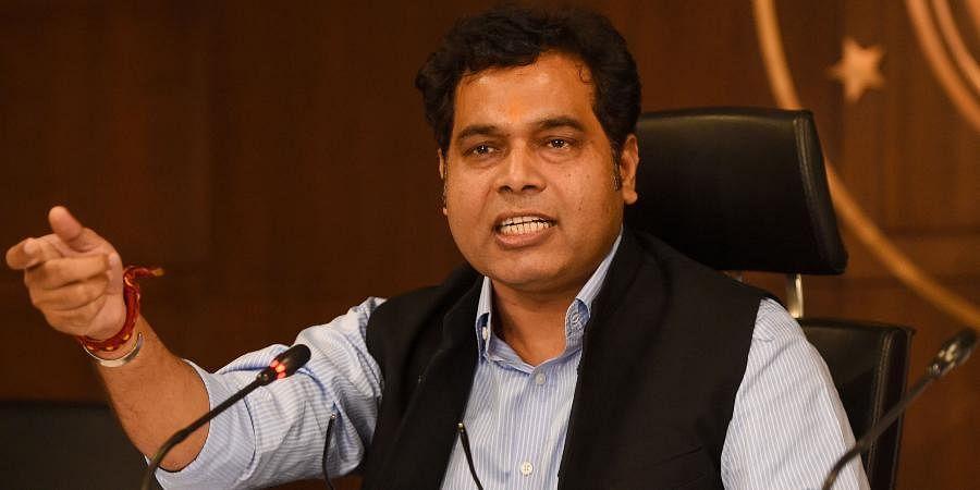Uttar Pradesh Power Minister Shrikant Sharma