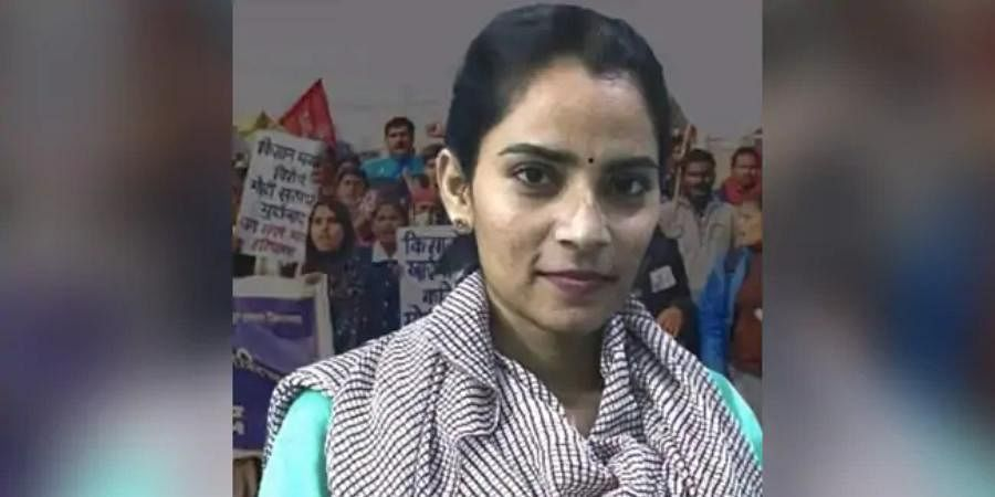 Labour rights activist Nodeep Kaur