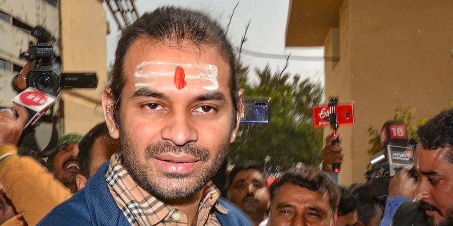 RJD leader Tej Pratap Yadav