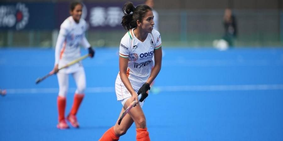 Indian women's hockey team midfielder Monika