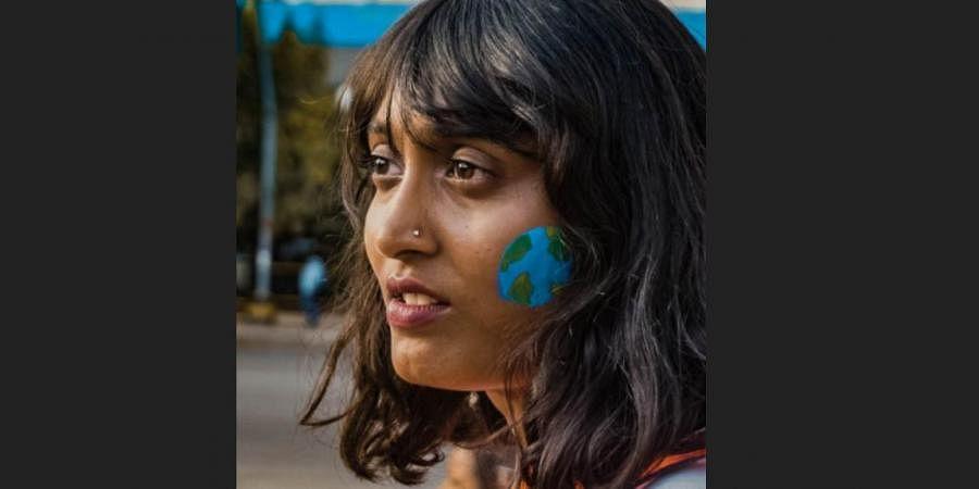 Climate activist Disha Ravi (Disha Ravi, Facebook)