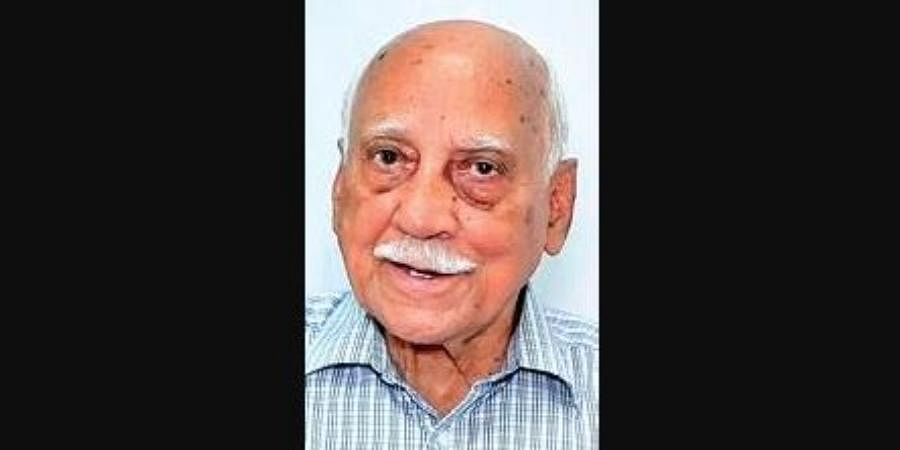 War veteran Major General (retired) Basant Kumar Mahapatra