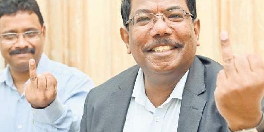 BBMP Commissioner Manjunath Prasad