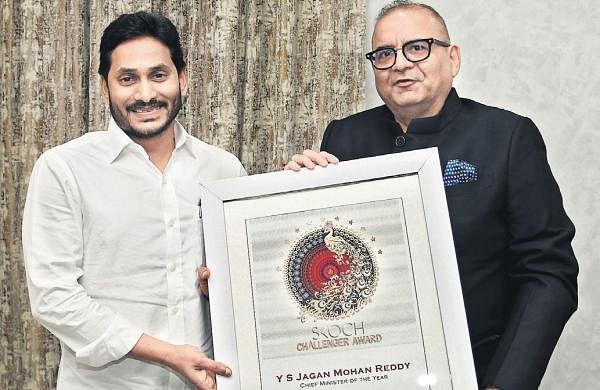 Jagan gets SKOCH CM of Year Award