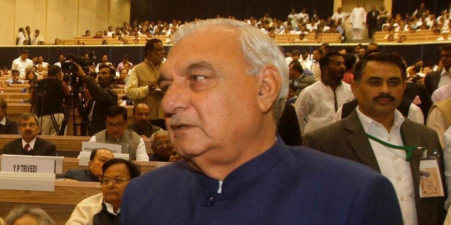 Former Haryana CM Bhupinder Singh Hooda