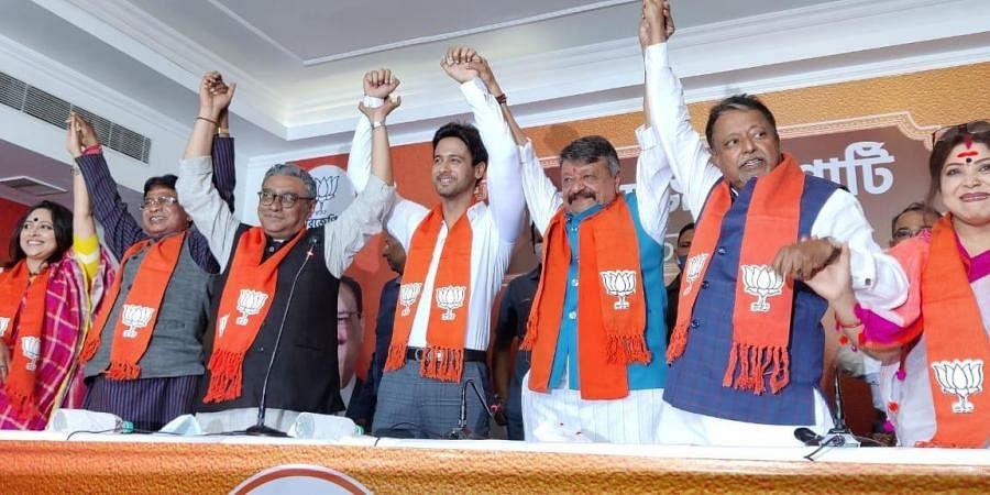 Bengali actor Yash Dasgupta joins Bharatiya Janata Party, in Kolkata