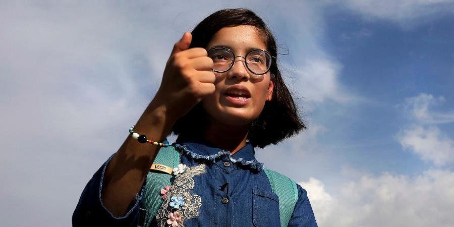 Climate activist Ridhima Pandey