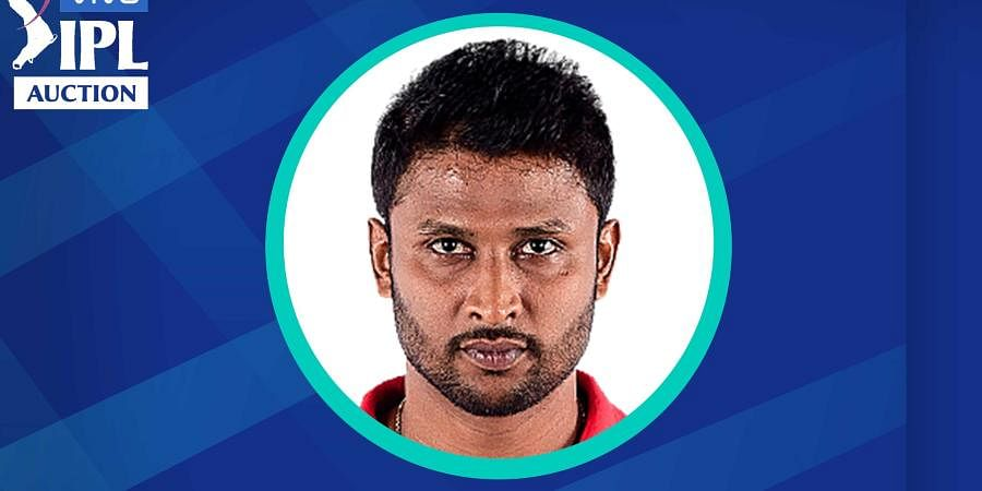 TEAM: CSK | PLAYER NAME: K Gowtham | ROLE: ALL‐ROUNDER | BASE PRICE: Rs 20 Lakh | PAID PRICE: Rs 9.25 Crore