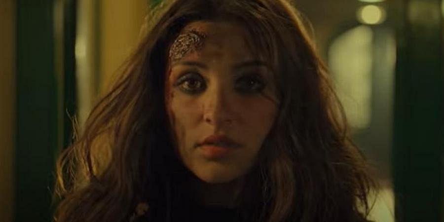 Parineeti Chopra in a still from 'The Girl on The Train' (Photo | YouTube screengrab)