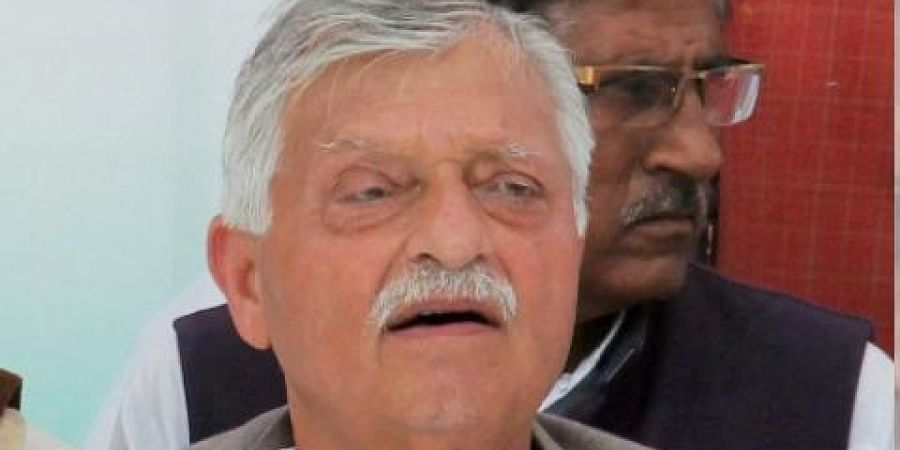 LateCongress leader and former union minister Captain Satish Sharma (File Photo | PTI)