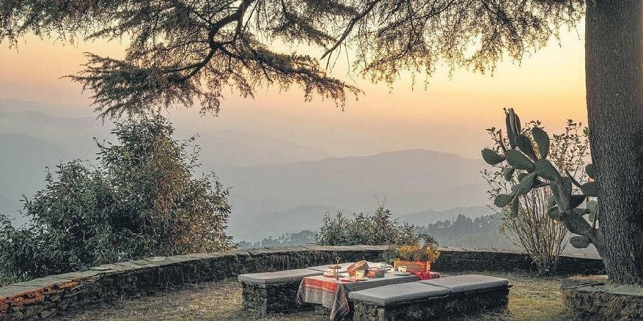 The rooms and spaces of Mary Budden Estate offer the backdrop of mountains and the right comforts to enjoy them with