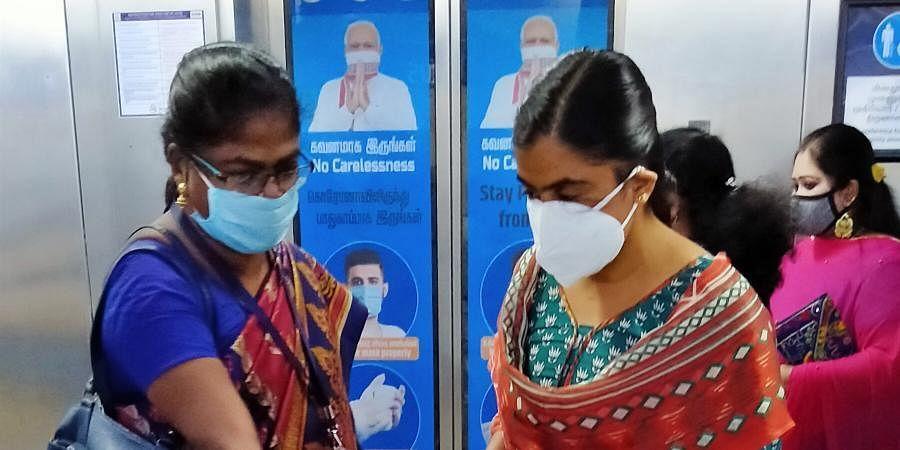 Chennai masks