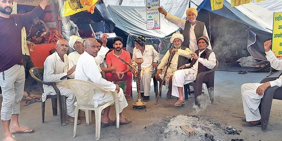 After surviving the winter, the farmer protesters at Singhu border are bracing for a punishing summer