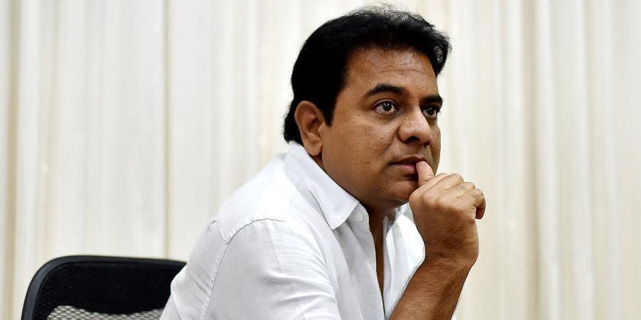 Telangana Municipal Administration and Urban Development Minister KT Rama Rao