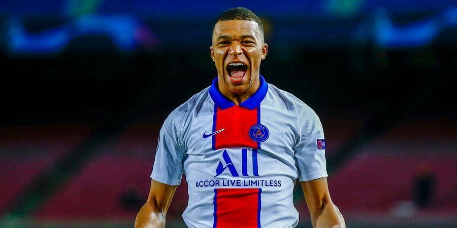 PSG's Kylian Mbappe