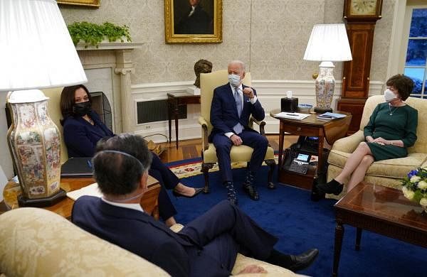 Biden tries to show US as democracy beacon post-Capitol riot- The New Indian Express