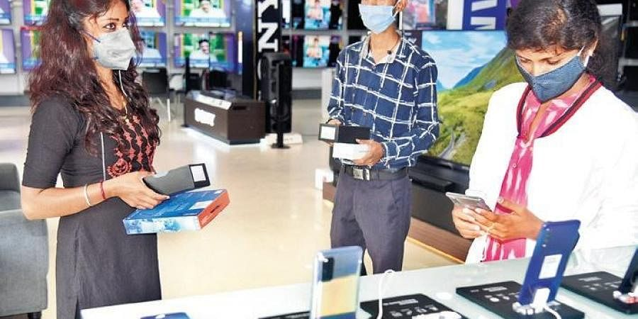 Electronics stores have seen a decline in the sale of Chinese products.