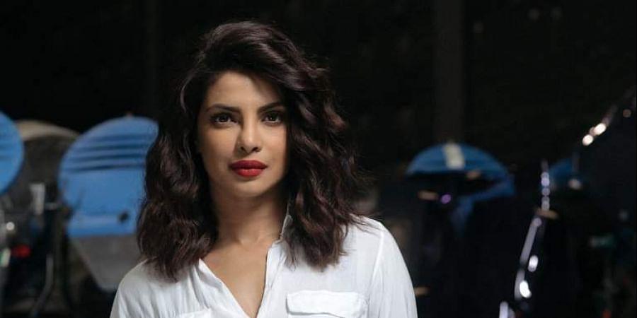 Actress Priyanka Chopra Jonas.