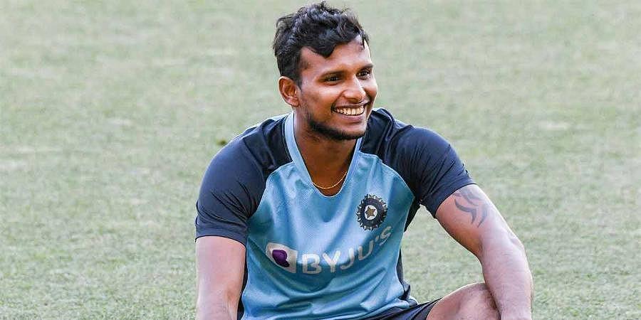 Indian seamer T Natarajan (File Photo)