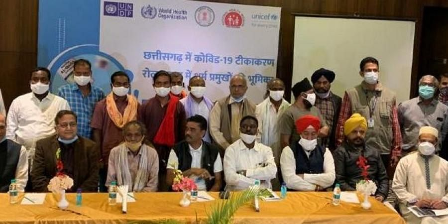 Amid upsurge in fresh Covid-19 cases, tribal and religious leaders caution masses
