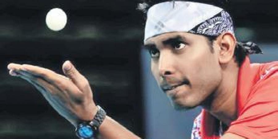Ace Indian paddler Achanta Sharath Kamal
