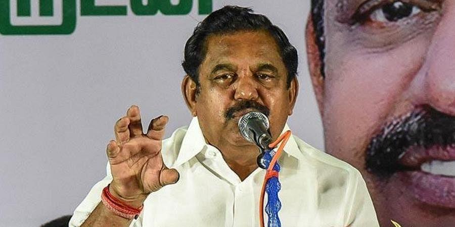 Tamil Nadu CMEdappadi K Palaniswami