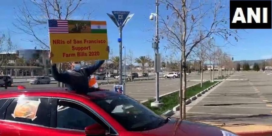 NRIs of the San Francisco Bay Area organised a car rally on 21st February