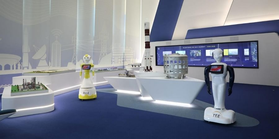 Larsen & Toubro's new corporate experience centre in Mumbai. (Photo | special arrangement)